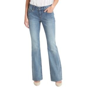 Gap Jeans Size 8 New Long & Lean Low Rise Flared